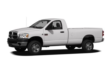 3/4 Front Glamour 2008 Dodge Ram 3500