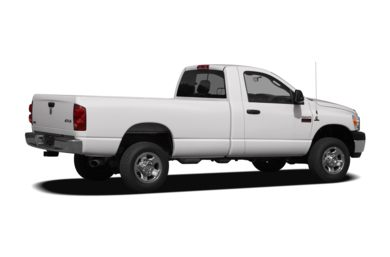 3/4 Rear Glamour  2008 Dodge Ram 3500