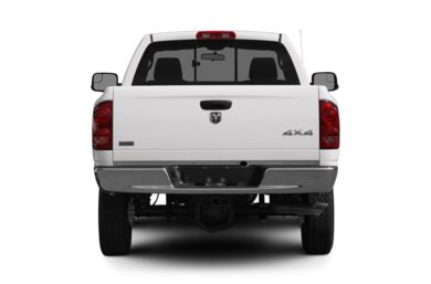 Rear Profile  2008 Dodge Ram 2500