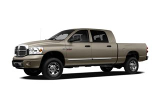 3/4 Front Glamour 2008 Dodge Ram 2500