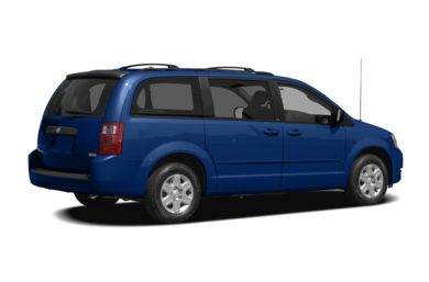 3/4 Rear Glamour  2008 Dodge Grand Caravan