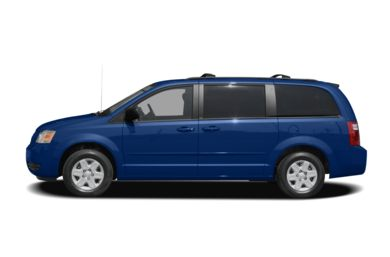 90 Degree Profile 2008 Dodge Grand Caravan