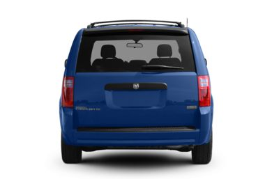 Rear Profile  2008 Dodge Grand Caravan