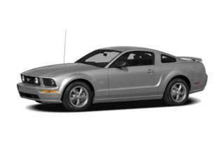 3/4 Front Glamour 2008 Ford Mustang