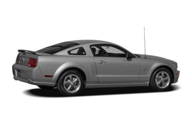 3/4 Rear Glamour  2008 Ford Mustang