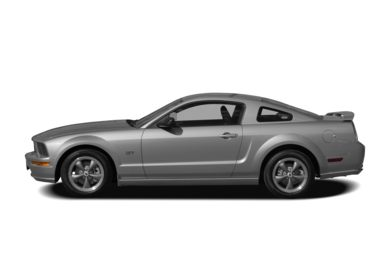 90 Degree Profile 2008 Ford Mustang