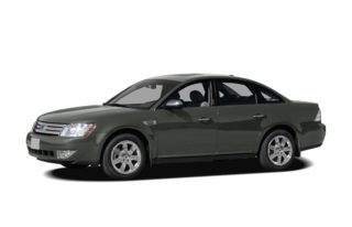 3/4 Front Glamour 2008 Ford Taurus