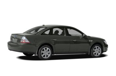 3/4 Rear Glamour  2008 Ford Taurus
