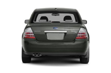 Rear Profile  2008 Ford Taurus