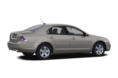 3/4 Rear Glamour  2008 Ford Fusion