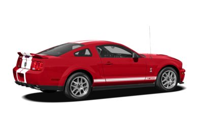 3/4 Rear Glamour  2008 Ford Shelby GT500