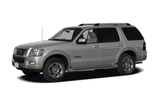 3/4 Front Glamour 2008 Ford Explorer