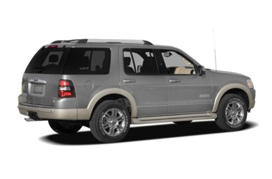3/4 Rear Glamour  2008 Ford Explorer