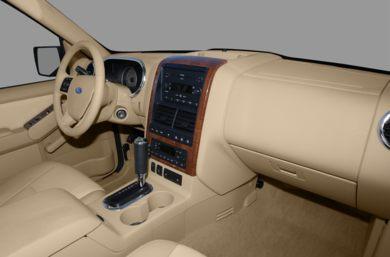 interior profile 2008 ford explorer