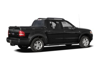 3/4 Rear Glamour  2008 Ford Explorer Sport Trac