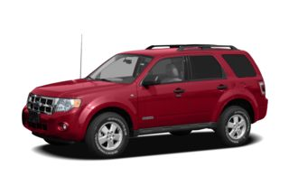 3/4 Front Glamour 2008 Ford Escape
