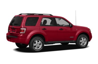 3/4 Rear Glamour  2008 Ford Escape