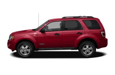 90 Degree Profile 2008 Ford Escape