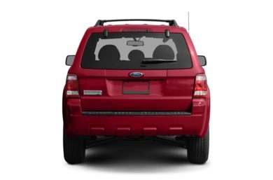 Rear Profile  2008 Ford Escape