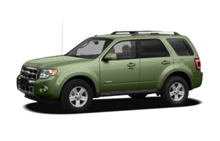 3/4 Front Glamour 2008 Ford Escape Hybrid