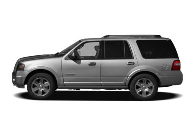 90 Degree Profile 2008 Ford Expedition