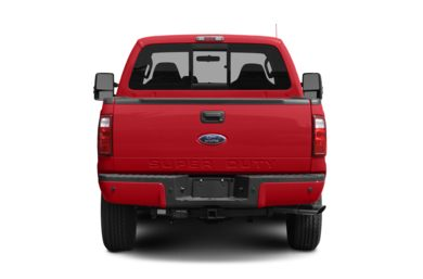 Rear Profile  2008 Ford F-250