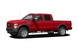 3/4 Front Glamour 2008 Ford F-250