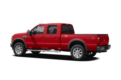 Surround 3/4 Rear - Drivers Side  2008 Ford F-250