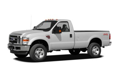 3/4 Front Glamour 2008 Ford F-350
