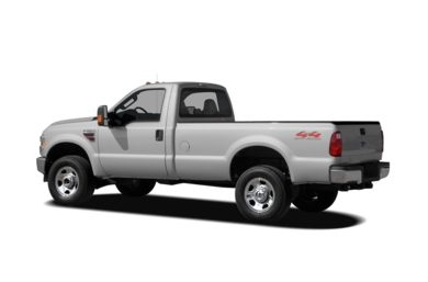 Surround 3/4 Rear - Drivers Side  2008 Ford F-350