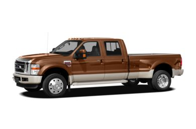3/4 Front Glamour 2008 Ford F-450