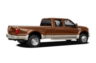 3/4 Rear Glamour  2008 Ford F-450