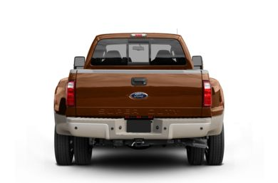 Rear Profile  2008 Ford F-450