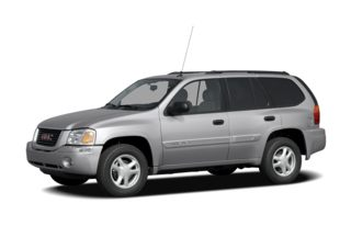3/4 Front Glamour 2008 GMC Envoy
