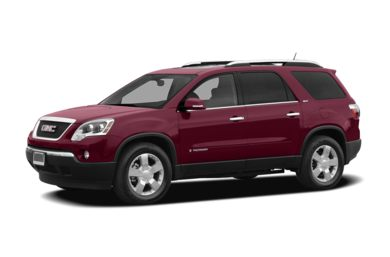 3/4 Front Glamour 2008 GMC Acadia