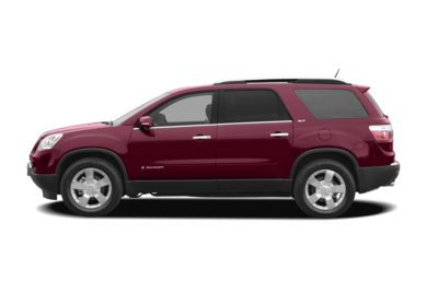 90 Degree Profile 2008 GMC Acadia