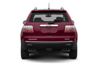 Rear Profile  2008 GMC Acadia