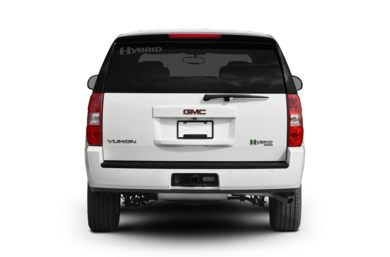 Rear Profile  2008 GMC Yukon Hybrid