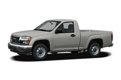 3/4 Front Glamour 2008 GMC Canyon