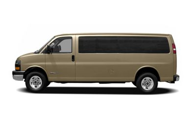 90 Degree Profile 2008 GMC Savana