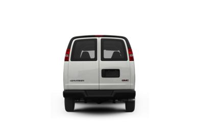 Surround Rear Profile 2008 GMC Savana