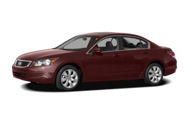 3/4 Front Glamour 2008 Honda Accord