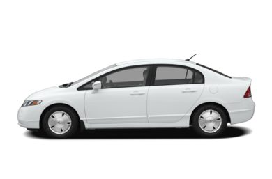 90 Degree Profile 2008 Honda Civic Hybrid