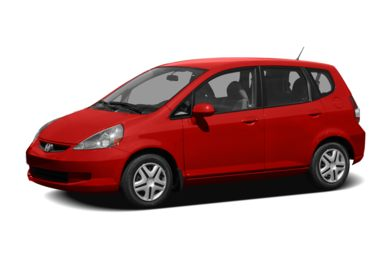 3/4 Front Glamour 2008 Honda Fit
