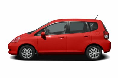 90 Degree Profile 2008 Honda Fit