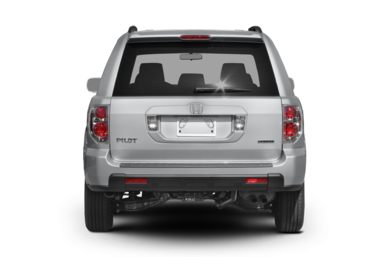 Rear Profile  2008 Honda Pilot