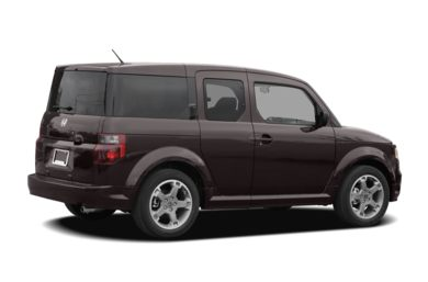 3/4 Rear Glamour  2008 Honda Element