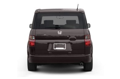 Rear Profile  2008 Honda Element