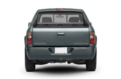 Rear Profile  2008 Honda Ridgeline