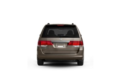 Surround Rear Profile 2008 Honda Odyssey